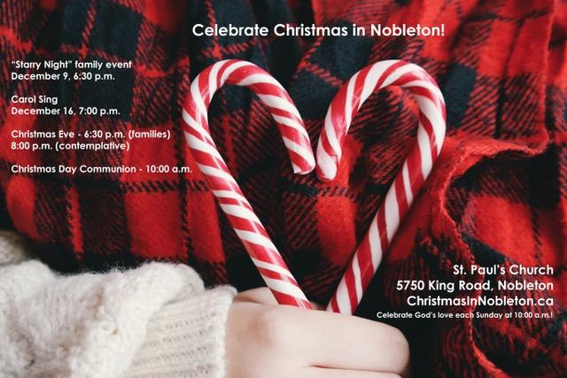Celebrate Christmas at St. Paul's Church in Nobleton
